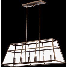 Kaufmann 6 Light Kitchen Island Pendant