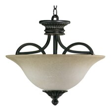 <strong>Quorum</strong> Anatola 3 Light Convertible Inverted Pendant