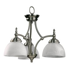 <strong>Quorum</strong> Ashton 3 Light Nook Chandelier