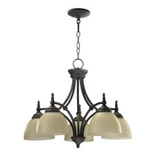<strong>Quorum</strong> Ashton 5 Light Nook Chandelier