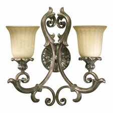 Barcelona 2 Light Wall Sconce