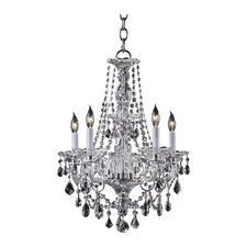 Bohemian Marien 5 Light Chandelier
