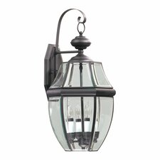<strong>Quorum</strong> Carrington 4 Light Outdoor Wall Lantern