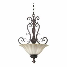Coronado 4 Light Inverted Pendant