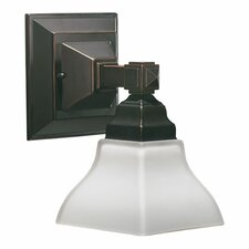 <strong>Quorum</strong> Craftsman 1 Light Wall Sconce
