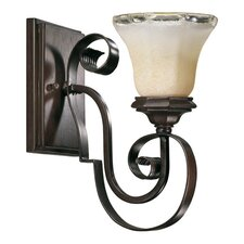 <strong>Quorum</strong> Delphi 1 Light Wall Sconce