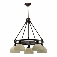 Lone Star 5 Light Nook Chandelier