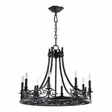Lorenco 8 Light Chandelier