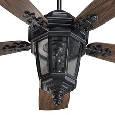 "52"" Dimone 5 Blade Patio Ceiling Fan"