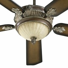 "<strong>Quorum</strong> 52"" Galloway 5 Blade Ceiling Fan with Remote"