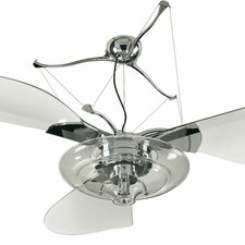 "<strong>Quorum</strong> 58"" Jellyfish 3 Blade Ceiling Fan"