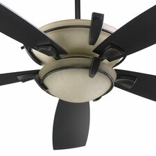 "<strong>Quorum</strong> 52"" Mendocino 5 Blade Ceiling Fan with Remote"