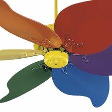 "46"" Pinwheel 6 Blade Ceiling Fan"