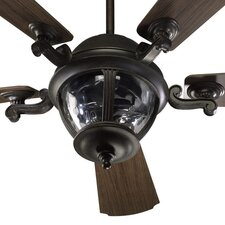 "<strong>Quorum</strong> 52"" Westbrook 5 Blade Patio Ceiling Fan with Remote"