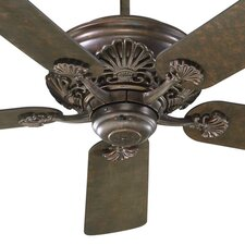 "<strong>Quorum</strong> 52"" Saxony 5 Blade Ceiling Fan"