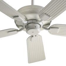 "56"" Marsden 5 Blade Patio Ceiling Fan with Remote"