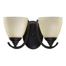 Powell 2 Light Wall Sconce