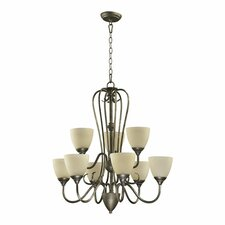 Powell 9 Light Chandelier