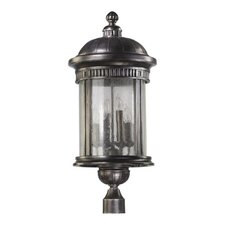 <strong>Quorum</strong> Presidio 6 Light Post Lantern