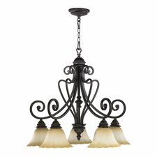 Summerset 5 Light Nook Chandelier