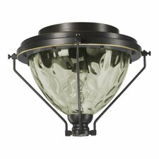 <strong>Quorum</strong> Adirondacks 1 Light Patio Ceiling Fan Light Kit