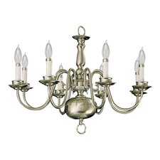 <strong>Quorum</strong> 8 Light Chandelier