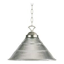 <strong>Quorum</strong> 1 Light Prism Cone Pendant