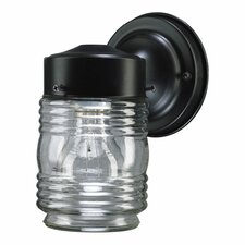 Lantern 1 Light Jelly Jar Outdoor Wall Lantern