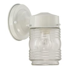 Lantern 1 Light Jelly Jar Outdoor Wall Lantern