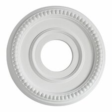 "1.25"" x 12.25"" Ceiling Medallion in Studio White"
