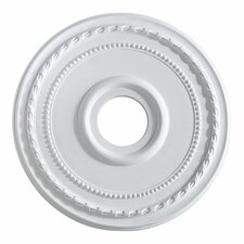 "17.5"" Ceiling Medallion in Studio White"