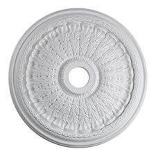 "<strong>Quorum</strong> 27"" Ceiling Medallion in Studio White"