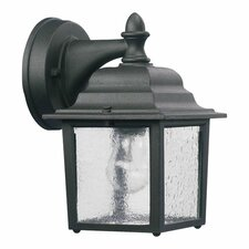 <strong>Quorum</strong> Lantern 1 Light Box Outdoor Wall Lantern