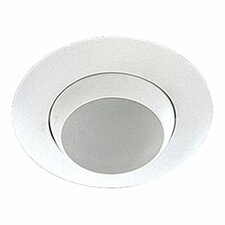 "<strong>Quorum</strong> 8""  Adjustable Eyeball Recessed Lighting Trim in White"