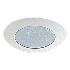"8""  Metal Recessed Lighting Trim in White"