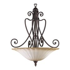 Summerset 5 Light Inverted Pendant
