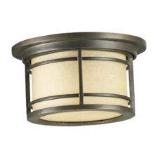 Larson 1 Light Outdoor Flush Mount