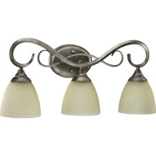 Powell 3 Light Vanity Light
