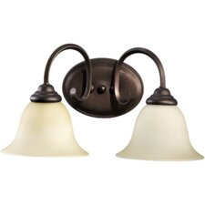 <strong>Quorum</strong> Spencer 2 Light Bath Vanity Light