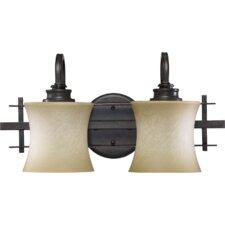 <strong>Quorum</strong> Prairie 2 Light Vanity Light