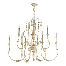 <strong>Quorum</strong> Salento 9 Light Chandelier