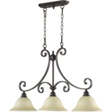 Bryant 3 Light Kitchen Island Pendant