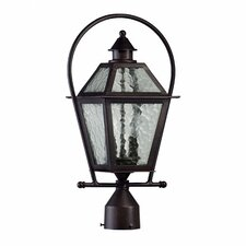 French Quarter 2 Light Outdoor Post Lantern