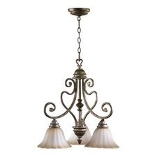 Summerset 3 Light Nook Chandelier