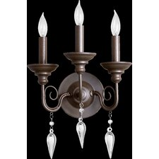 Vesta 3 Light Wall Sconce