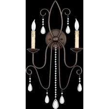 Cilia 2 Light Wall Sconce
