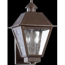 Emile 2 Light Outdoor Wall Lantern