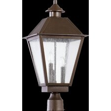 Emile 3 Light Outdoor Post Lantern