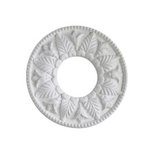 "<strong>Quorum</strong> 1"" x 10"" Ceiling Medallion in Studio White"