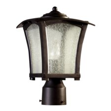 <strong>Quorum</strong> Gable 1 Light Outdoor Post Lantern
